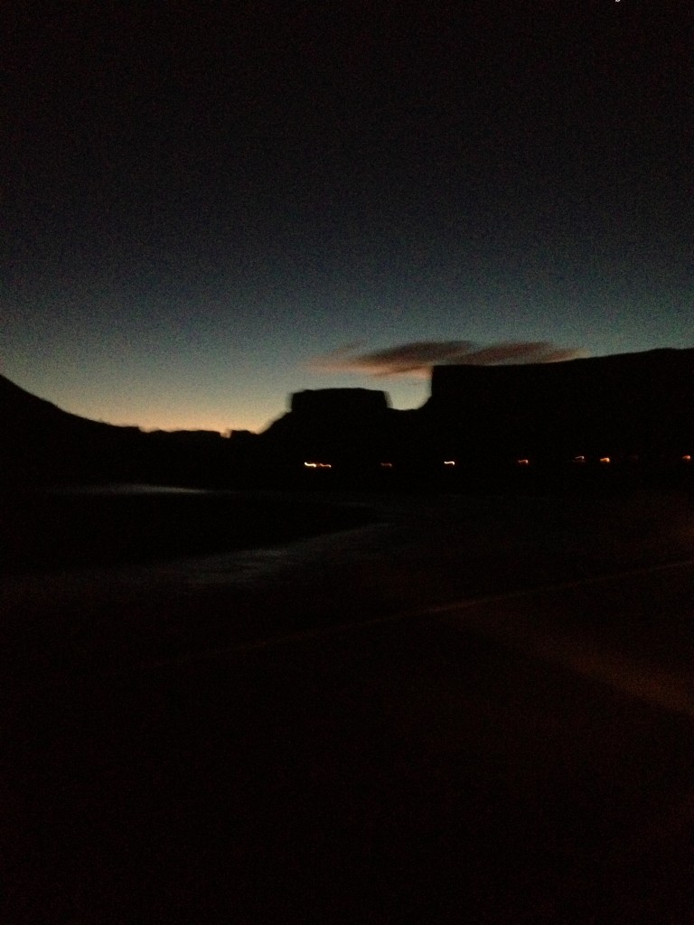 moab at dawn