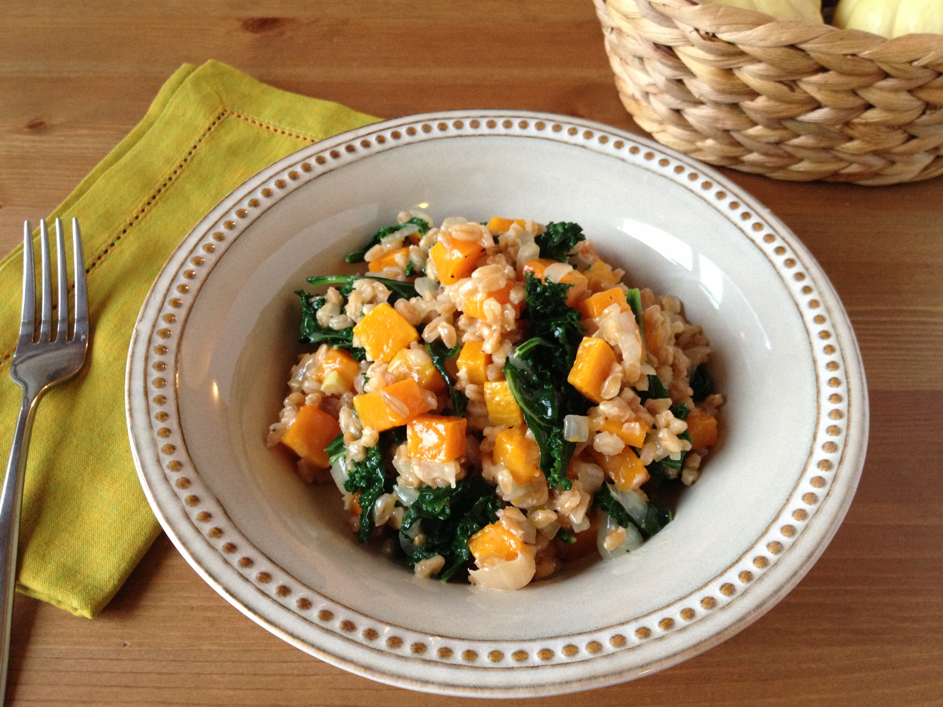 ale farro risotto with butternut salad with farro baked farro risotto ...