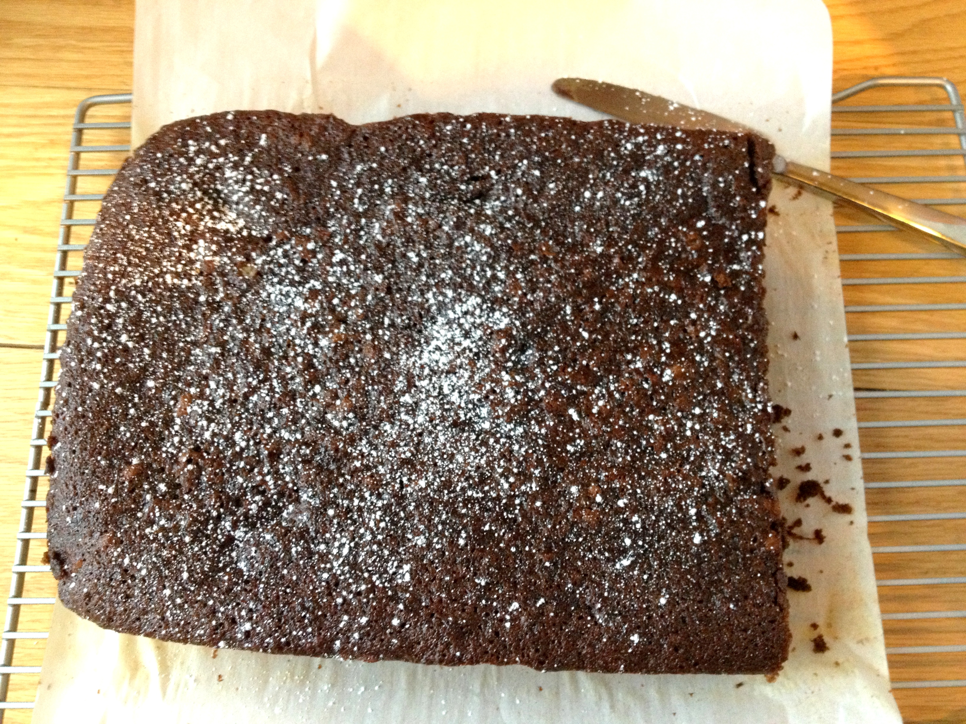 Black Sticky Gingerbread Recipe — Dishmaps