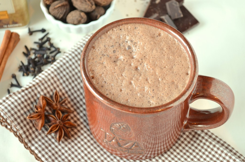 Chai Spiced Hot Chocolate | Coffee & Quinoa