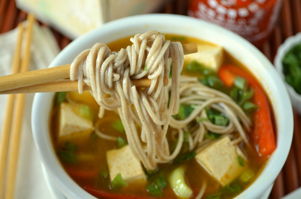 Asian Noodle Soup To Cure a Cold | Coffee & Quinoa
