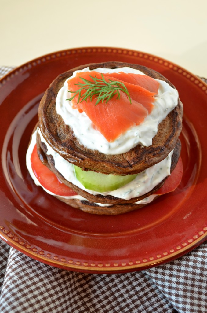 Pumpernickel Pancake Stacks | coffeeandquinoa.com