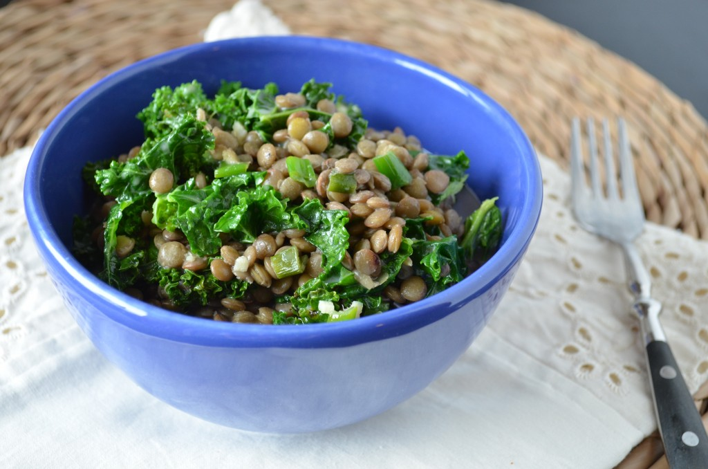 Thai Coconut Lentils with Kale | coffeeandquinoa.com