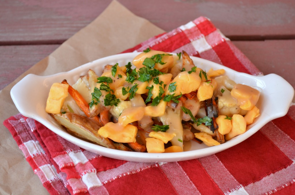 Roasted Vegetable Poutine