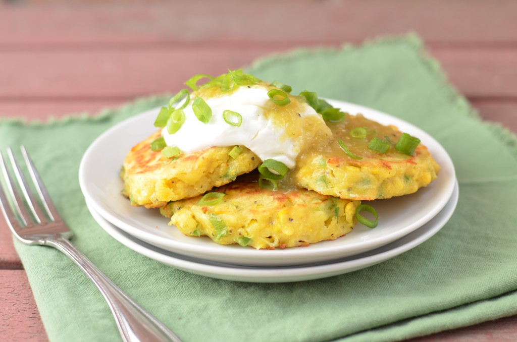 Fresh Corn and Jalapeno Griddle Cakes