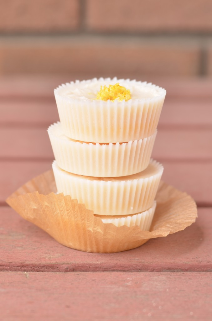 Coconut Butter Cups with Meyer Lemon Curd