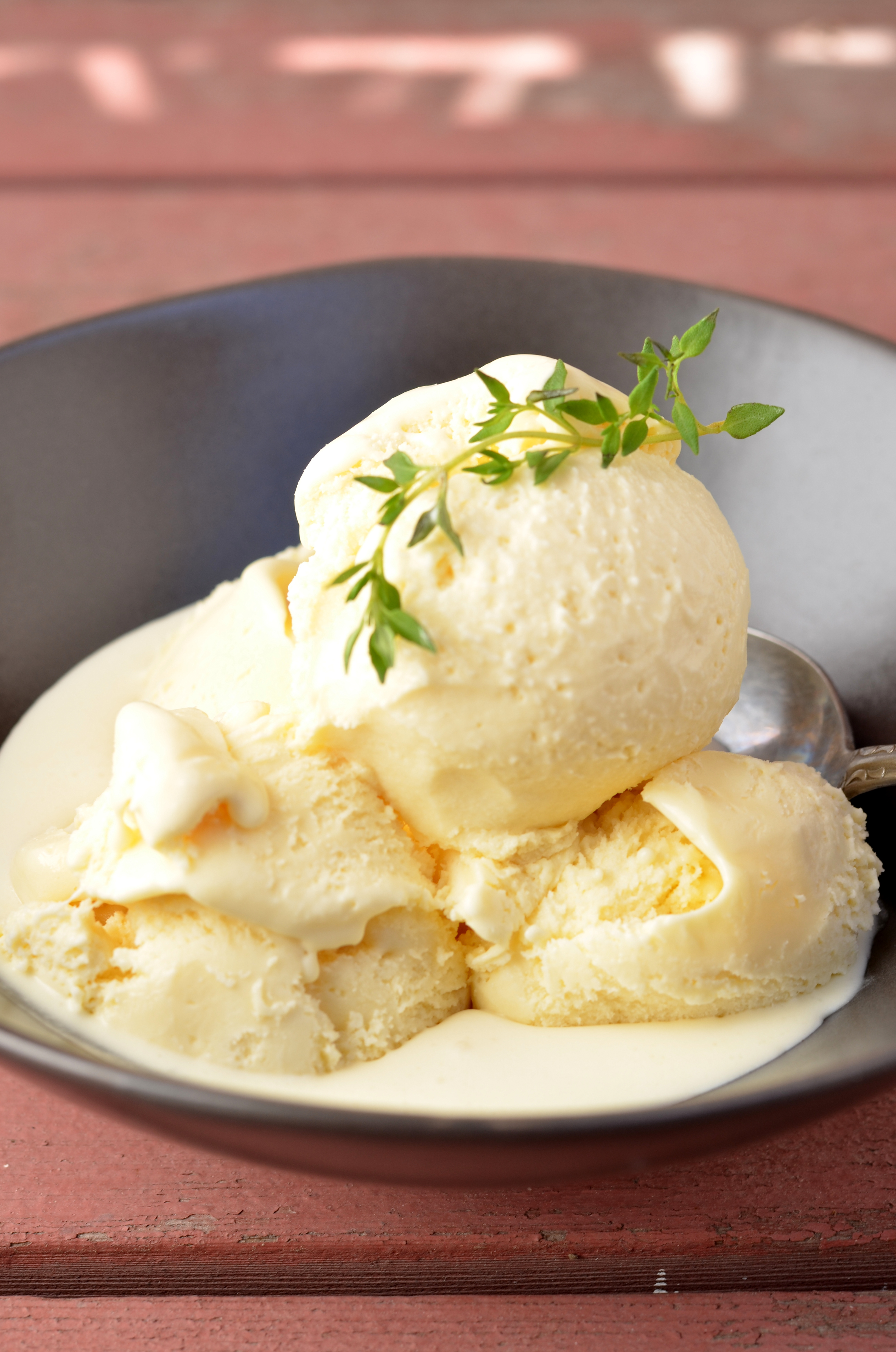 Honey Thyme Ice Cream