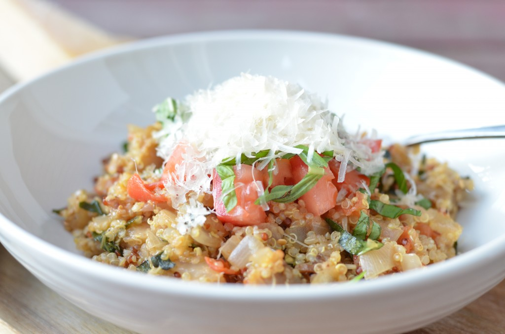 Garlic, Basil And Parmesan Quinoa Recipes — Dishmaps