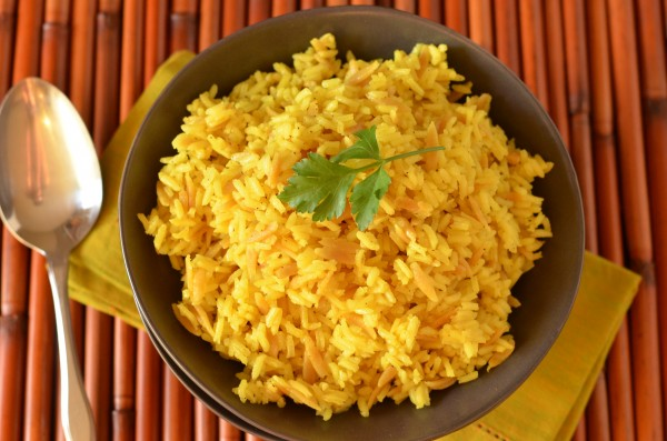 ... yellow rice pilaf recept yummly healthy yellow rice pilaf recept