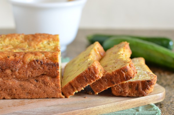 Summer Squash Loaf Cake with Fennel and Almonds // Coffee & Quinoa