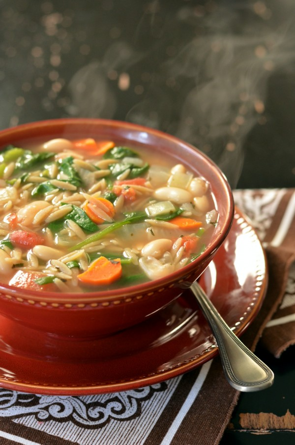 ... for another soup! The easiest, peasiest, cheesiest soup in the land