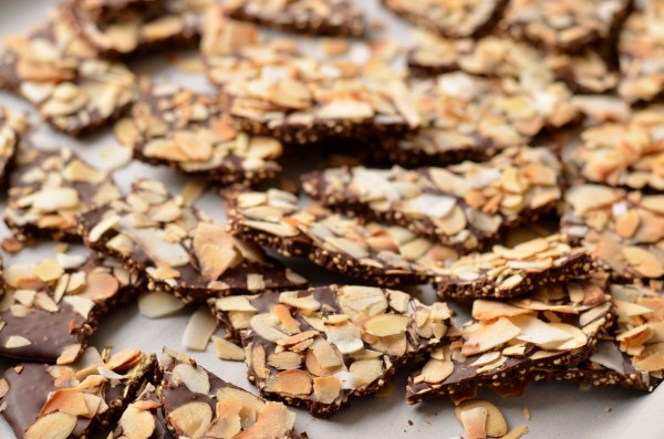 Quinoa Chocolate Bark, 3 Ways