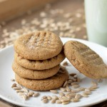 Three-Ingredient Sunbutter Cookies
