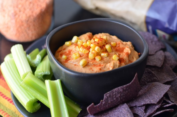 Spicy Red Lentil Chipotle Hummus