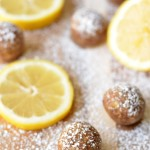 Raw Lemon Bar Bites