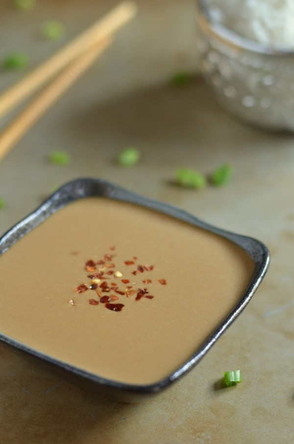 ... recently found myself on a quest to master a Thai peanut sauce recipe