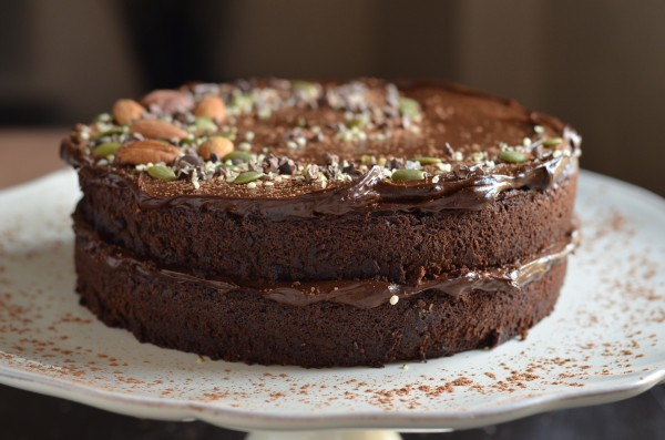 Avocado Chocolate Cake Raw