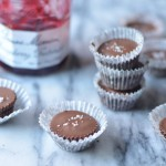Milk Chocolate Peanut Butter & Jelly Cups | coffeeandquinoa.com