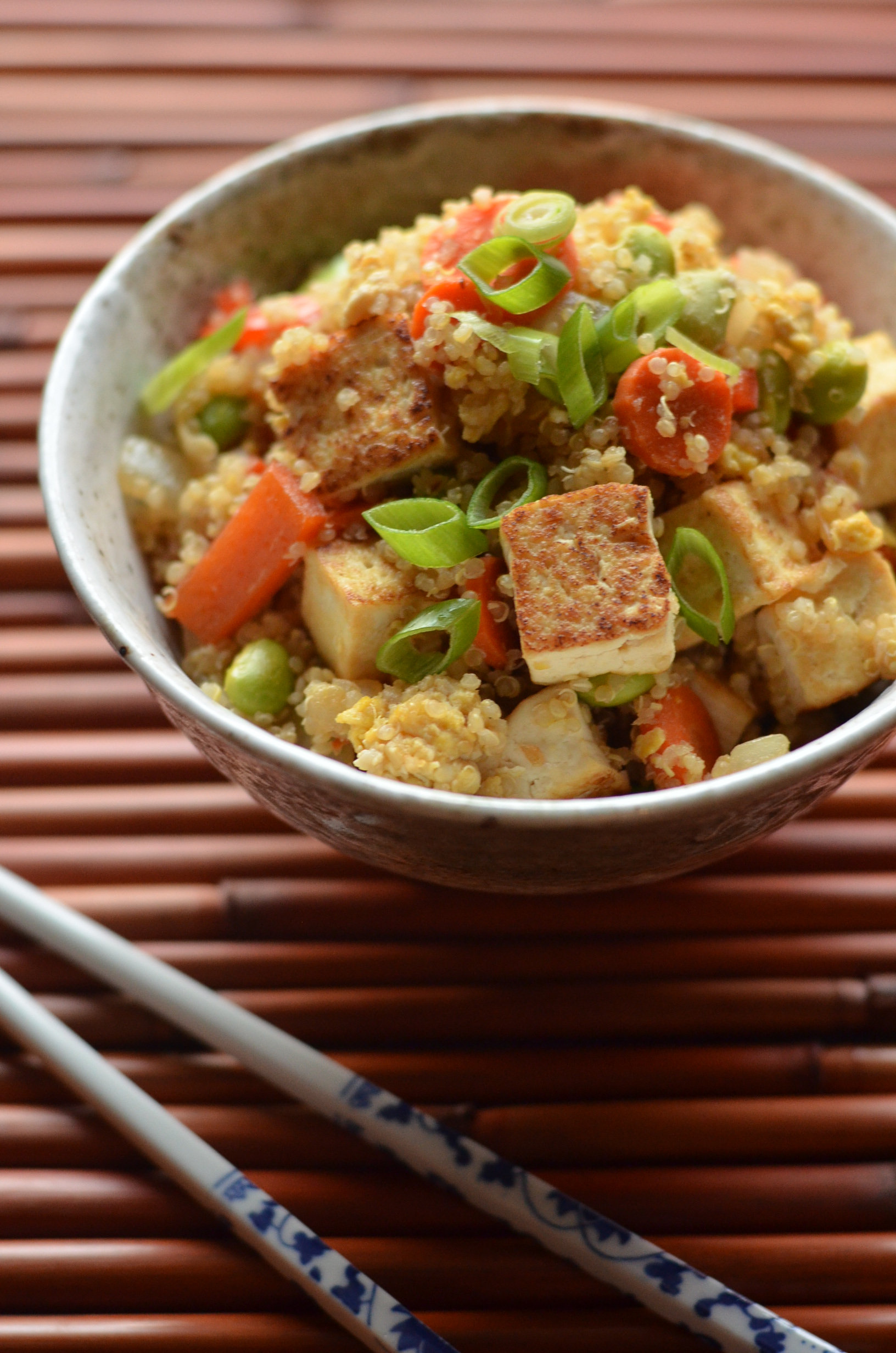 Quinoa Fried Rice with Tofu