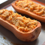 Twice-Baked Butternut Squash with Ricotta and Sage | coffeeandquinoa.com