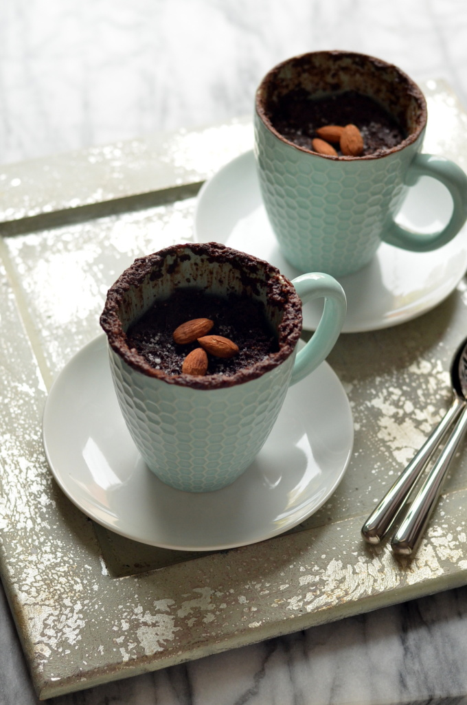 Vegan Mug Cakes Chocolate